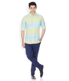 United Colors Of Benetton Multi Regular Fit Linen Shirt Benetton, Workout Shirts, Get The Look, The Unit, Shirt Dress, Colors, Fitness, Casual, Mens Tops
