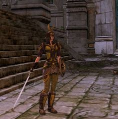 Warrior Skald of annuminas! nice color combo by SerendipityUK