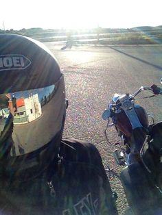 Mi Moto y Yo.