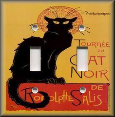 Popular Art - French Chat Noir