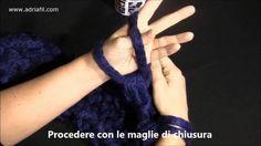 """Filato """"Magia"""" di Adriafil - Sciarpa realizzata con metodo """"Fai da te"""""""