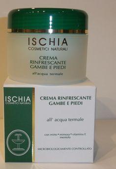 crema rinfrescante gambe piedi 20.00€ su shop online www.ilgiardinodischiaerboristeria.com