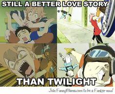 FLCL vs. Twilight #celebritydeathmatch