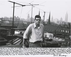 Allen Ginsberg, New York, Fall 1953
