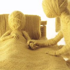 Moving On: A Stop-motion Music Video for 'James' Made with Yarn by Ainslie Henderson