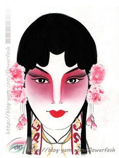 紙妝設計/花旦 (進階高級課程/油彩)