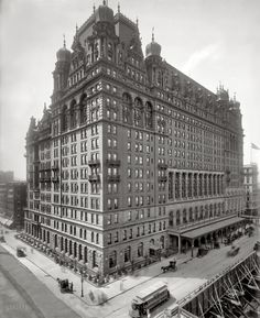 Shorpy Historical Photo Archive :: Death Star: 1902 The original Waldorf Astoria, torn down to make way for the Empire State Building, too bad they couldn't have found another place to put it, and left this beauty alone