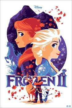New FROZEN II Poster by Tom Whalen!