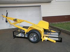ramp free drop bed trailer