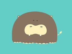 Hippo by Edgar Alanis