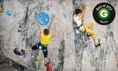 Groupon - 10 Visits, One-Month Membership, or Two-Hour Rock-Climbing Challenge Course for Up to 12 at MetroRock (Up to 68% Off). Groupon deal price: $59.00