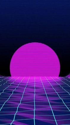 Iphone Wallpaper 80s, Neon Wallpaper, Phone Wallpapers, Wallpaper Backgrounds, Chill Wallpaper, Iphone Backgrounds, Robot Wallpaper, Trippy Wallpaper, Black Wallpaper