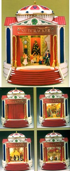 NUTCRACKER SUITE MUSIC BOX- from the Gold Label collection