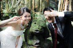 Inn Chiau & Sally | Bali Wedding Photography Album