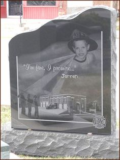 If this little boy's tombstone doesn't wrench your heart, I don't know what will...