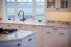 super white granite countertop - Google Search