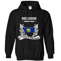 RED LODGE It's Where My Story Begins T-Shirts, Hoodies. VIEW DETAIL ==► https://www.sunfrog.com/No-Category/RED-LODGE--Its-where-my-story-begins-1431-Black-Hoodie.html?id=41382