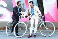 Menswear 2014 Fashion Week – Italian Street Style