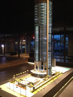 Porche Design Tower, coming soon to Sunny Isles...drive your car into your apartment. Over the top luxury!