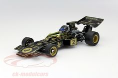 Lotus Type 72E, Winner F1 GP Italy 1973, No.2, Ronnie Peterson, Lotus-Ford Team. Quartzo, 1/18, Limited Edition 3000 pcs. Price (2016): 50 EUR.