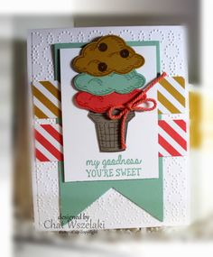 Stampin' Up You're Sweet Card
