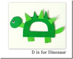 D is for Dinosaur: @Rachel Murawski to go with U is for Undapantz!