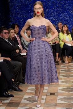 Christian Dior Fall 2012 Couture Fashion Show - Hedvig Palm (Next)