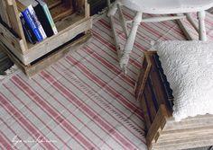 Ikea Rug, Big Rugs, Reading Nook, Ikea Hack, Floor Rugs, Hacks, Flooring, Create, Home Decor