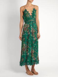 Zimmermann Tropicale Crinkle silk-georgette jumpsuit