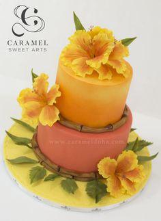 Hawaiian Cake by Caramel Doha