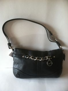 COACH LEATHER HANDBAG/CROSSOVER  retail 288.00 on sale for $119.00 at blomming.com/mm/giaconisboutique/items