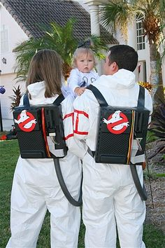 Ghostbusters Family Costumes #halloween #costumes