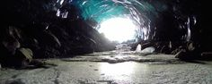 Behind The Scenes: A Drone Camera's Dive Into Alaskan Ice Caves | The Creators Project