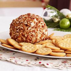 Celebration Cheese Ball User Rating 5 Star Rating (3 Reviews)  By Diana Rattray Appetizers Table, Cheese Appetizers, Appetizer Dips, Appetizer Recipes, Yummy Appetizers, Cheese Snacks, Dip Recipes, Yummy Recipes, Finger Foods