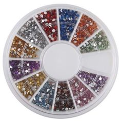 Start here15mm 1800 Nail Art Rhinestone Glitter Tip Mix Gems BuyinCoins *** Check out the image by visiting the link. (This is an affiliate link) #MakeupSets