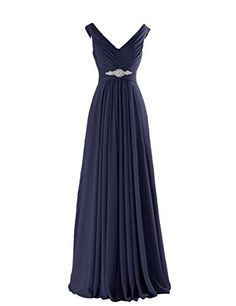 Tidetell Sexy V-neck Bridesmaid Rhinestone Long Prom Evening Gowns Navy Size 2 Tidetell http://www.amazon.com/dp/B00PU28ISE/ref=cm_sw_r_pi_dp_CUdEvb0JNRYM1