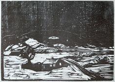 Edvard Munch - Snow Landscape [1888]