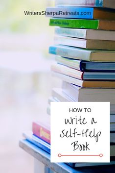 How to Write a Self-Help Book -- Write a self help book that changes your readers' lives. Write a book, write a self help book, writing tips, writing inspiration, become an author Memoir Writing, Book Writing Tips, Fiction Writing, Writing Resources, Writing Ideas, Writing Quotes, Make Money Writing, Start Writing, Writing Help