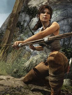 Tomb Raider @ Crystal Dynamics Madison Parker on ArtStation Tomb Raider Game, Tomb Raider Lara Croft, Madison Parker, Lara Croft Cosplay, Laura Croft, Female Heroines, Rise Of The Tomb, New Movies, Fantasy Characters
