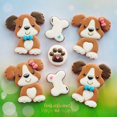 """526 Likes, 36 Comments - Natalia Campbell (@cookielicious_nz) on Instagram: """"Puppy love this cute cutter is from @say.it.with.sweetness I just love that I can create both…"""""""