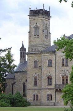 Sychrov - neogothic castle, East Bohemia, Czechia