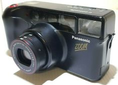 Panasonic fic film compact camera with zoom Reflex Camera, 35mm Camera, Zoom Zoom, Zoom Lens, Banknote, Bratislava, 35mm Film, Camera Accessories, Compact