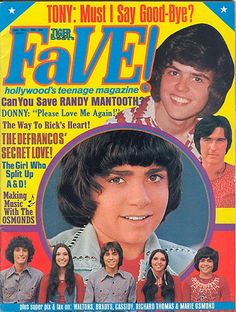 Tiger Beat's Fave!, 1974