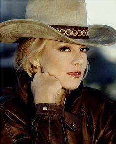 Vartan Sylvie, Cowboy Hats, Beauty, Beautiful, David, Blondes, Singers, Portraits, Fashion