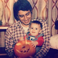 Little Nicky and his dad <3