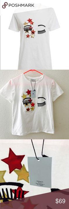 Chiara Ferragni shirt NWT Chiara Ferragni Tops Tees - Short Sleeve