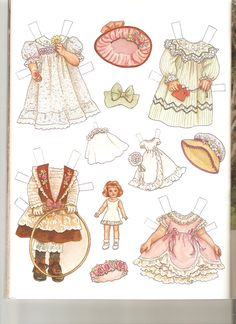 Play Dress-up with MARTHA and Her Doll Artist Theresa Boreli for Martha Pullen Company 2 of 2