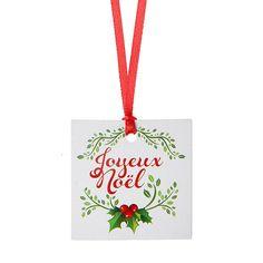 "Geschenkanhänger ""Joyeux Noel"" 12er Pack #Namenskarte #Namensanhänger #Geschenkverpackung #Wichtelgeschenk #Weihnachtsgeschenk"