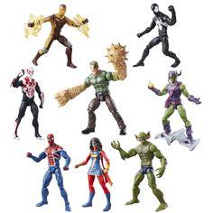 """Marvel Legends 6"""" Spider-Man Sandman BAF Wave Up For Pre-Order At BBTS #Marvel"""