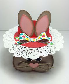 Bunny Curvy Keepsake Box